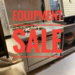 Equipment Sale